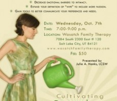 """Cultivating Sexual Desire"" — Women's Workshop"