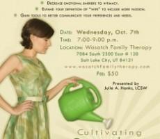 Women's Sexual Intimacy Workshop