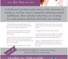 Amazing Intimacy Couples Workshop