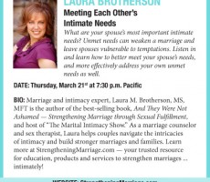Meeting Each Other's Intimate Needs— Dating Divas Tele-Seminar #3