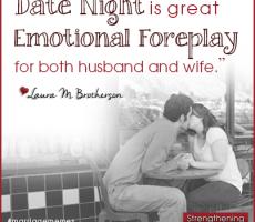 Marriage Meme #1 — Emotional Foreplay