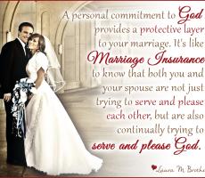 Marriage Meme #11 — Marriage Insurance