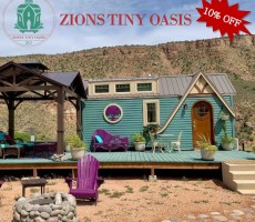 Romantic Getaway — Zions Tiny Oasis – 10% OFF